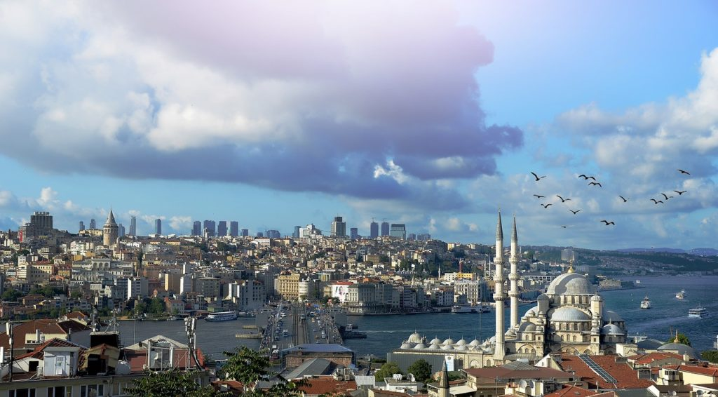 Istanbul, beautiful cities to visit in Turkey