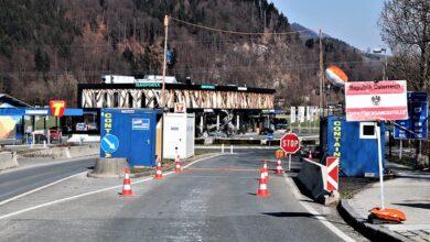 Austria border