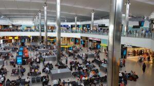 England drops self-isolation measure. Heathrow