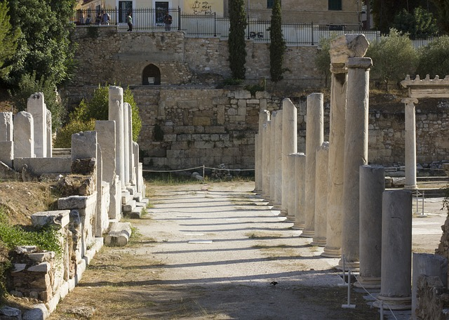 Roman Agora, tourist attractions in Athens