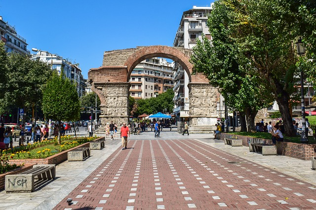 Arch of Galerius, tourist attractions in Thessaloniki
