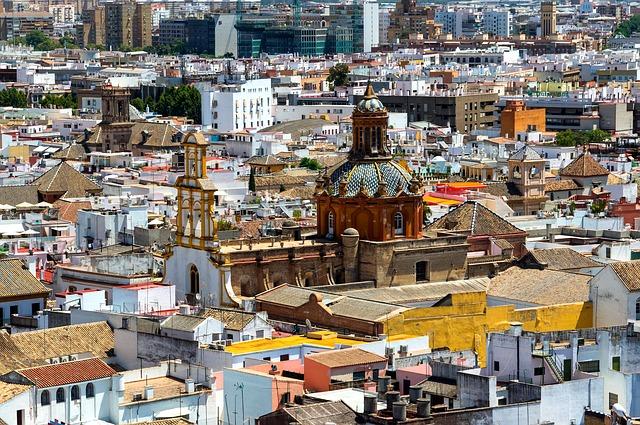 Seville, Summer vacation in Spain